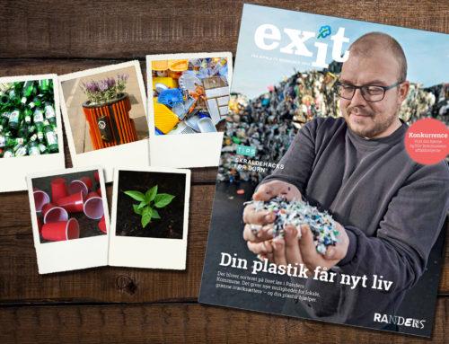 Magasinet Exit sætter fokus på affald som ressource