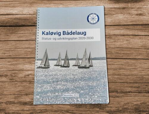 Kaløvig Bådelaug fik professionel og læsevenlig udviklingsplan