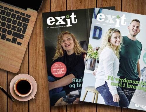 Redaktør på magasin om genbrug og ressourcer